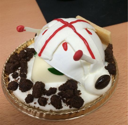 アキト機ケーキ